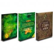 Kit Trilogia Livro Fitoenergética + Tarô Fitoenergética + Manual De Magia