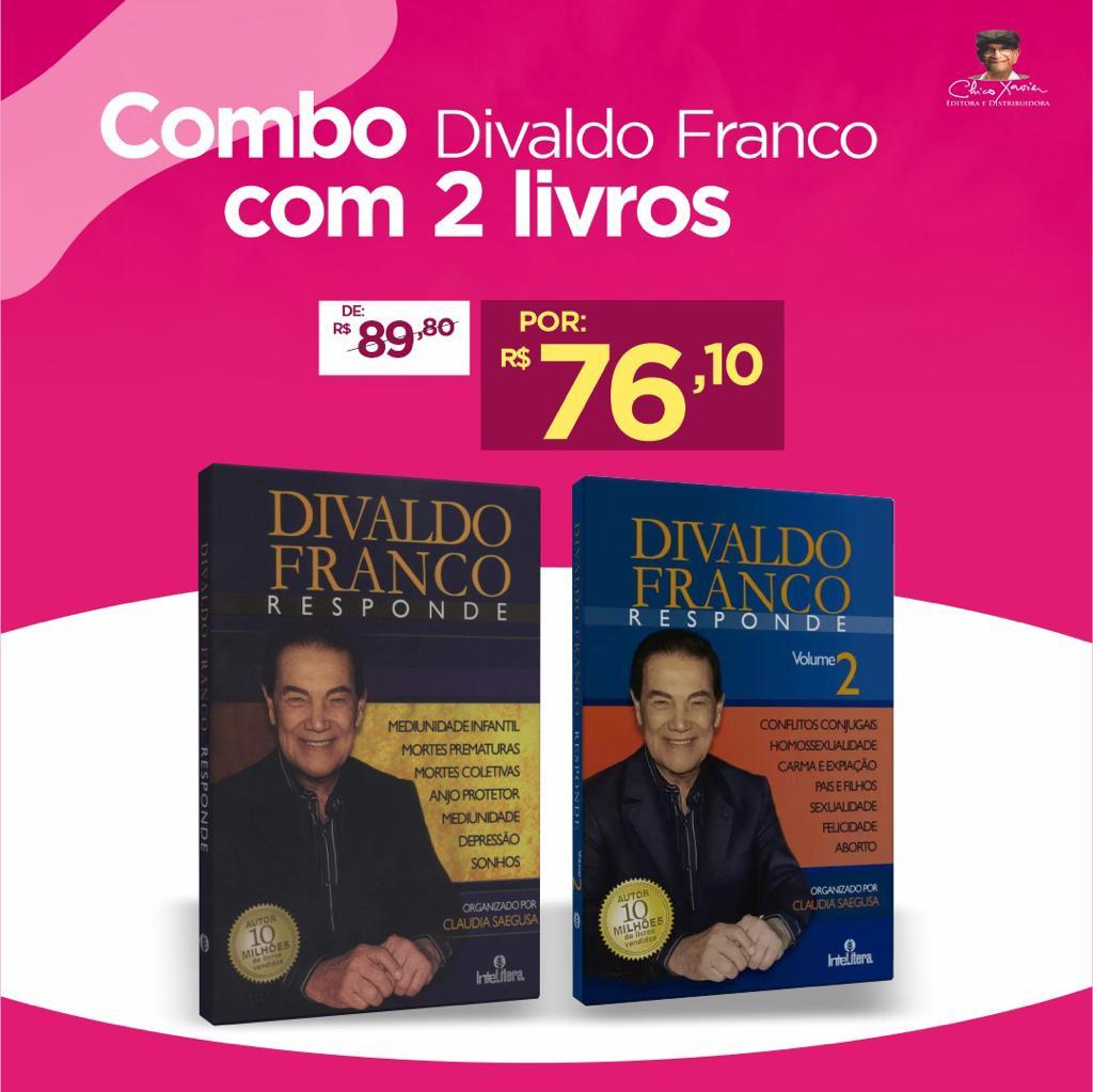 Combo Divaldo Franco com 2 Livros