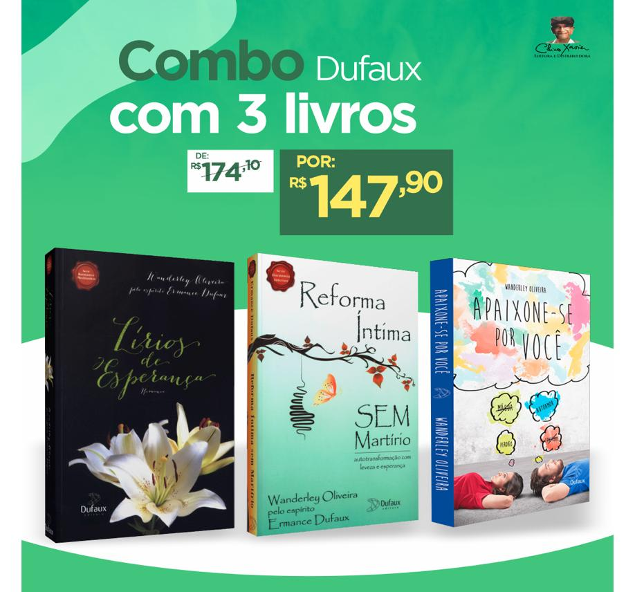 Combo Dufaux com 3 Livros