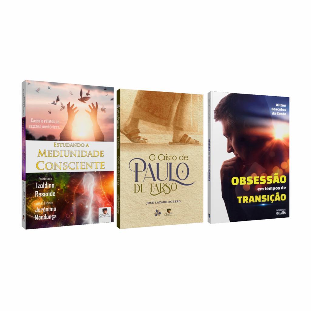 Combo Estudo Doutrinário com 3 Livros