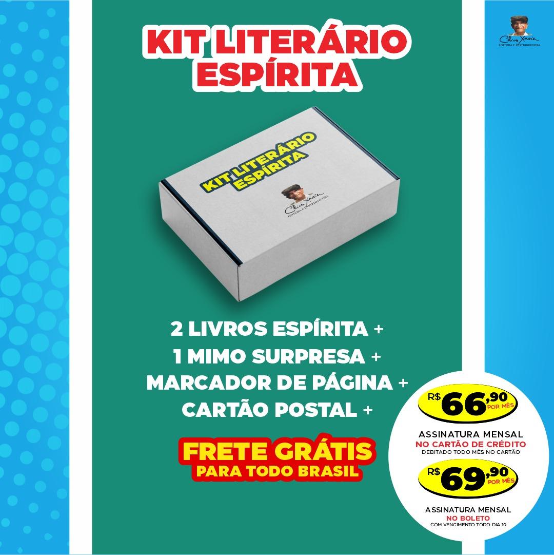 Kit Literário Espírita