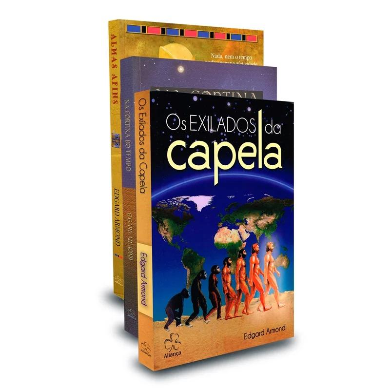 Kit Trilogia Exilados Da Capela (Os)