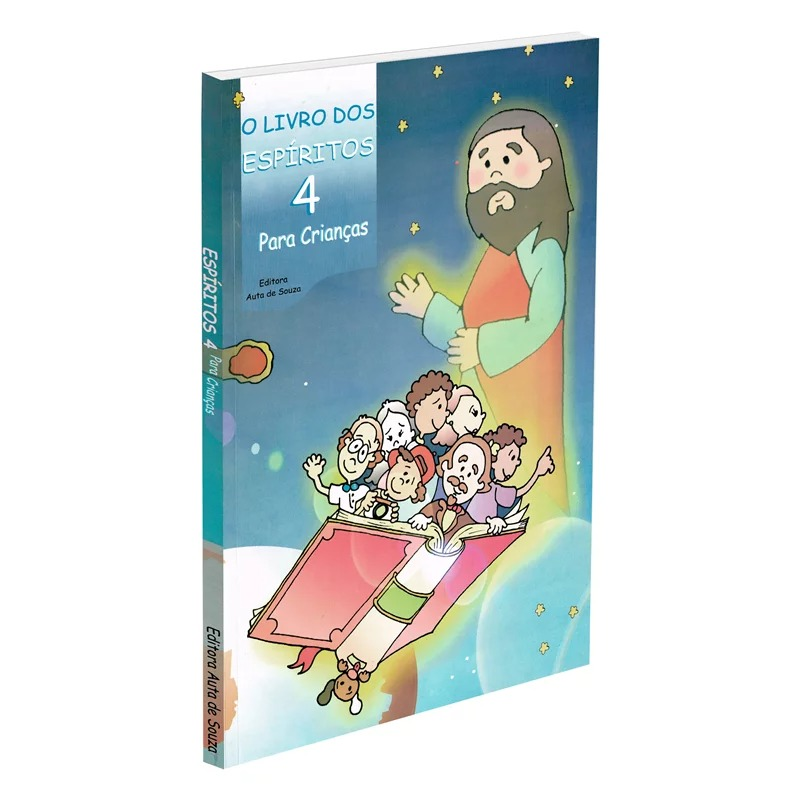 Livro Dos Espíritos Para Crianças - Vol. 4