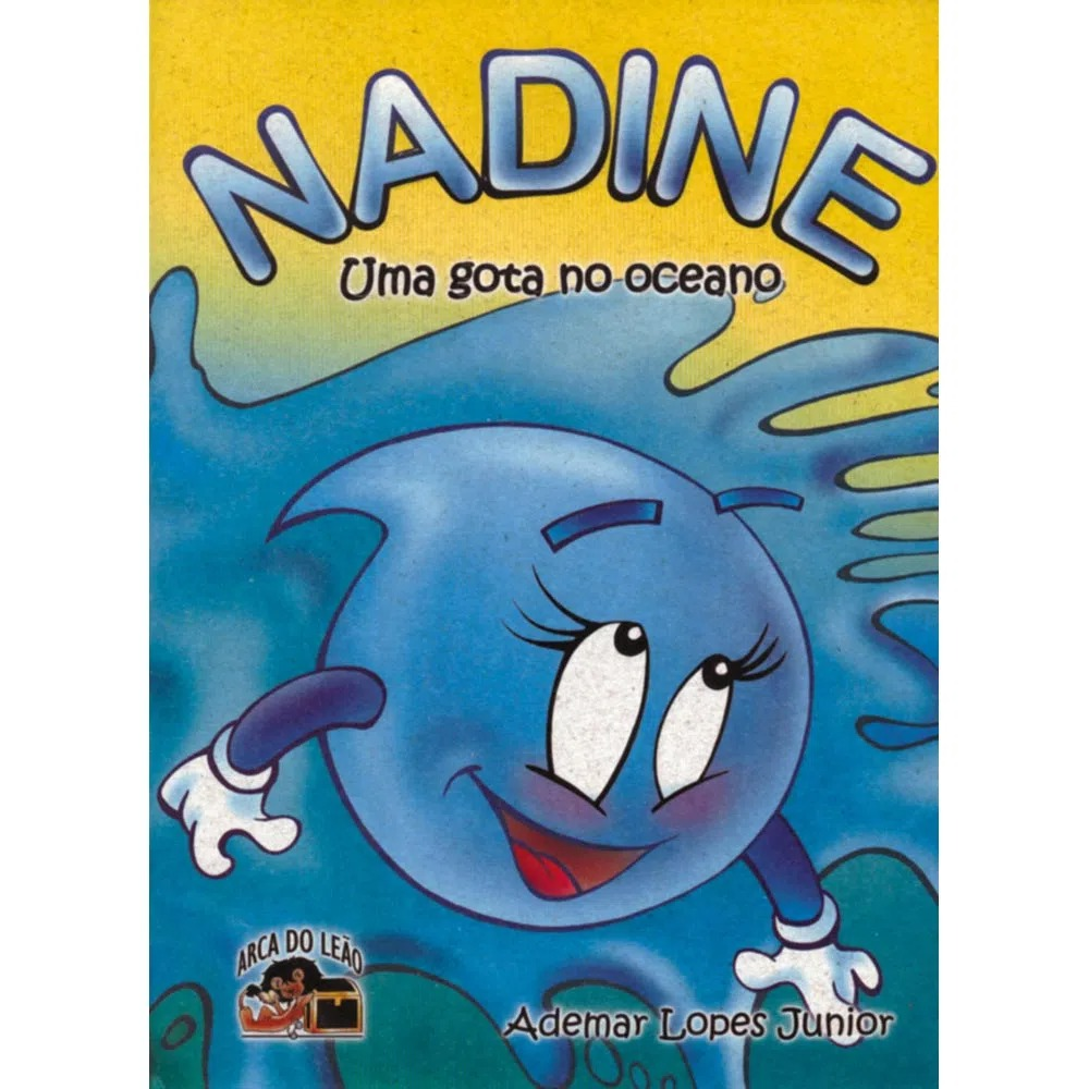 Nadine - Uma Gota No Oceano - Gibi
