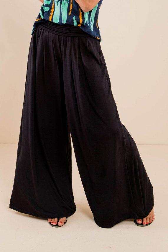 Calça Pantalona c/Pregas