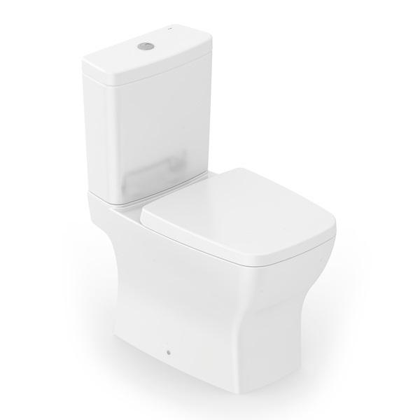 Kit Boss Bacia com Caixa Acoplada, Assento e Instalação - Branco