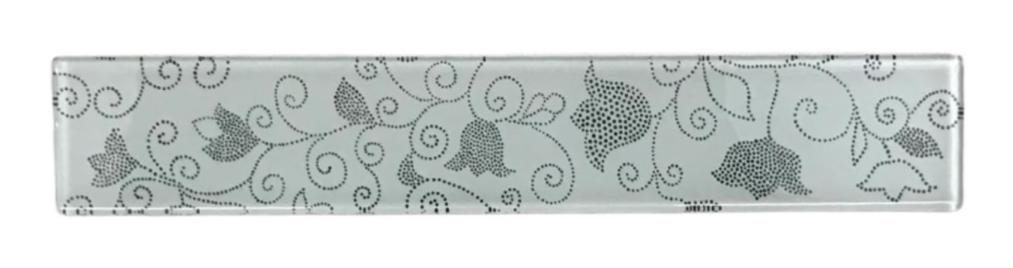 Listelo de Vidro 5 x 30 Floral 800/900