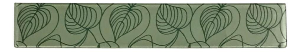 Listelo de Vidro 5 x 30 Petala 270/205
