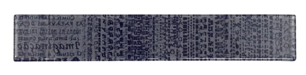 LISTELO DE VIDRO 5X30 LITERAL 690/685                 Listelo de Vidro 5 x 30 Literal 690/685