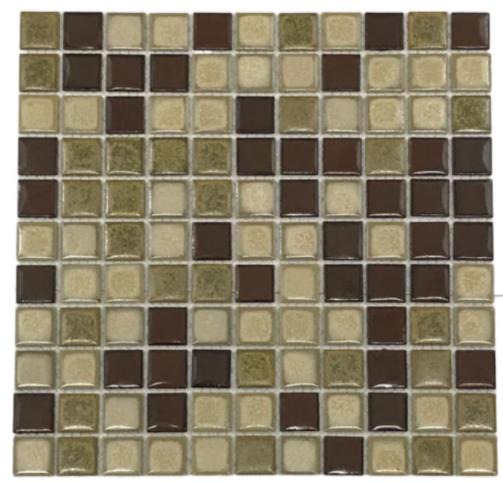 Pastilha de Porcelana 2,5 x 2,5 Ref: PL8421