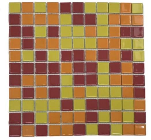 Pastilha de Porcelona 2,5 x 2,5 Ref: PL8400