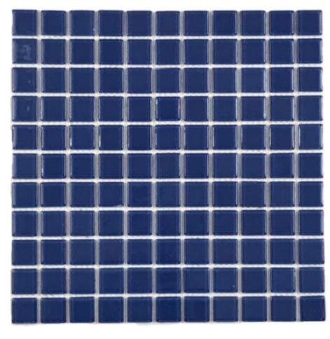 Pastilha de Vidro 2,5 x 2,5 Divine Blue AZ102 Segunda Linha