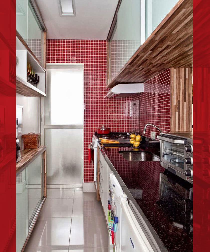 Pastilha De Vidro 30x30 Vermelho Pc Primeira Linha