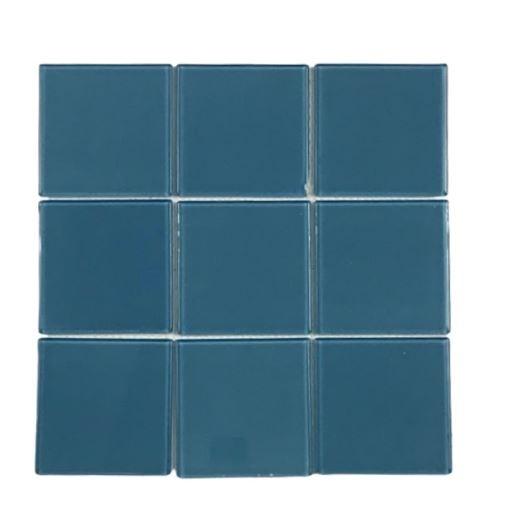 Pastilha de Vidro Azul Marinho Az120 10x10Cm