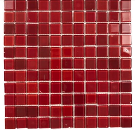 Pastilha de Vidro Blood 30Cm x 30Cm Vm107 Segunda Linha