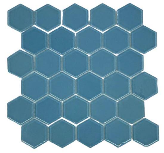 Pastilha de Vidro Celestial Blue 30Cm x 30Cm Az114 b