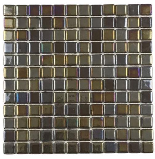 Pastilha de Vidro Eco Rust 30Cm x 30Cm Mct108 b
