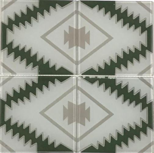Pastilha de Vidro Irlanda 15Cm x 15Cm Mvd104 b