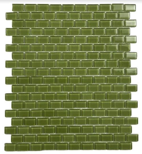 Pastilha de Vidro Menta 30Cm x 30Cm