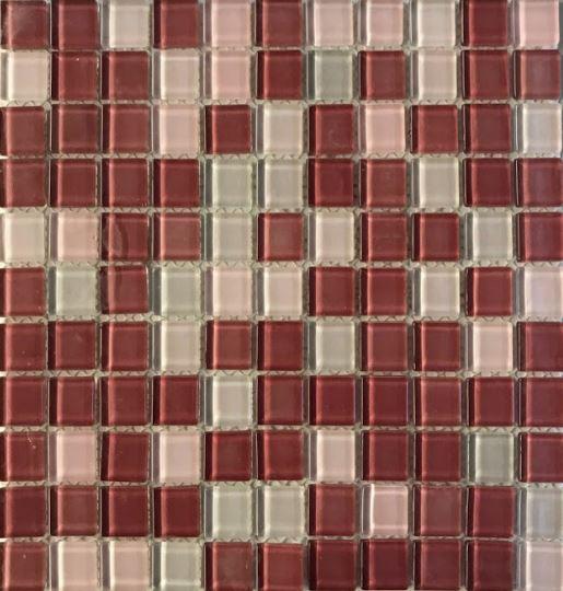 Pastilha de Vidro Mescla 30Cm x 30Cm Mrs100 b