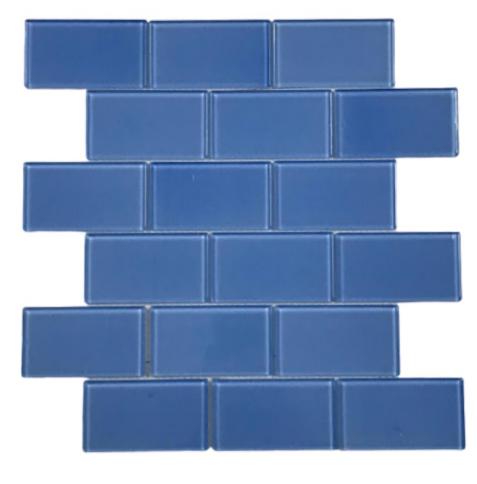 Pastilha de Vidro Orim 5 x 10 Light Blue AZ104a 30x30
