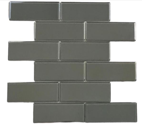 Pastilha de Vidro Silver 30Cm x 30Cm Pr100 a