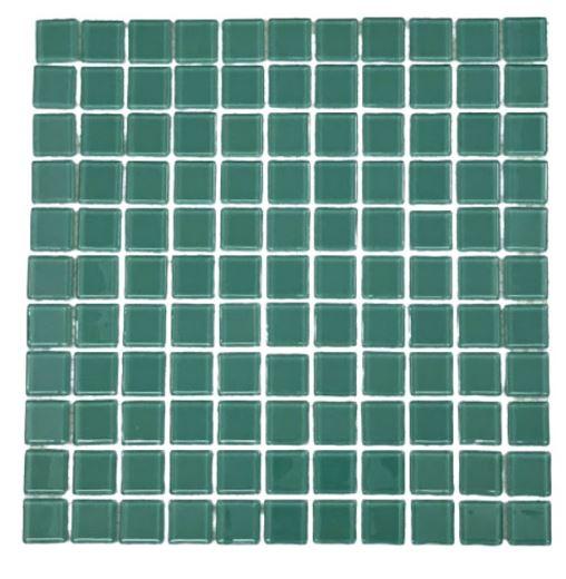 Pastilha de Vidro Water Green 30Cm x 30Cm Vd118