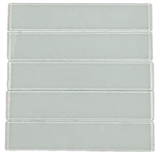 Pastilha de Vidro White Sky 30Cm x 30Cm Br104 b