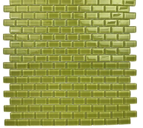 Pastilha de Vidro Yellow Brick 30x30Cm Am103