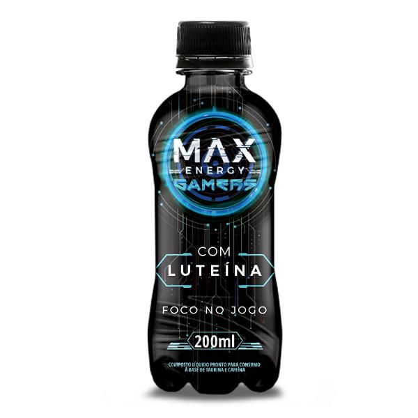 Bebida Energética Max Gamers 200ml
