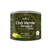 CHA VERDE C/GENG. E SEM. DE CHIA 200G- SABOR ABACA