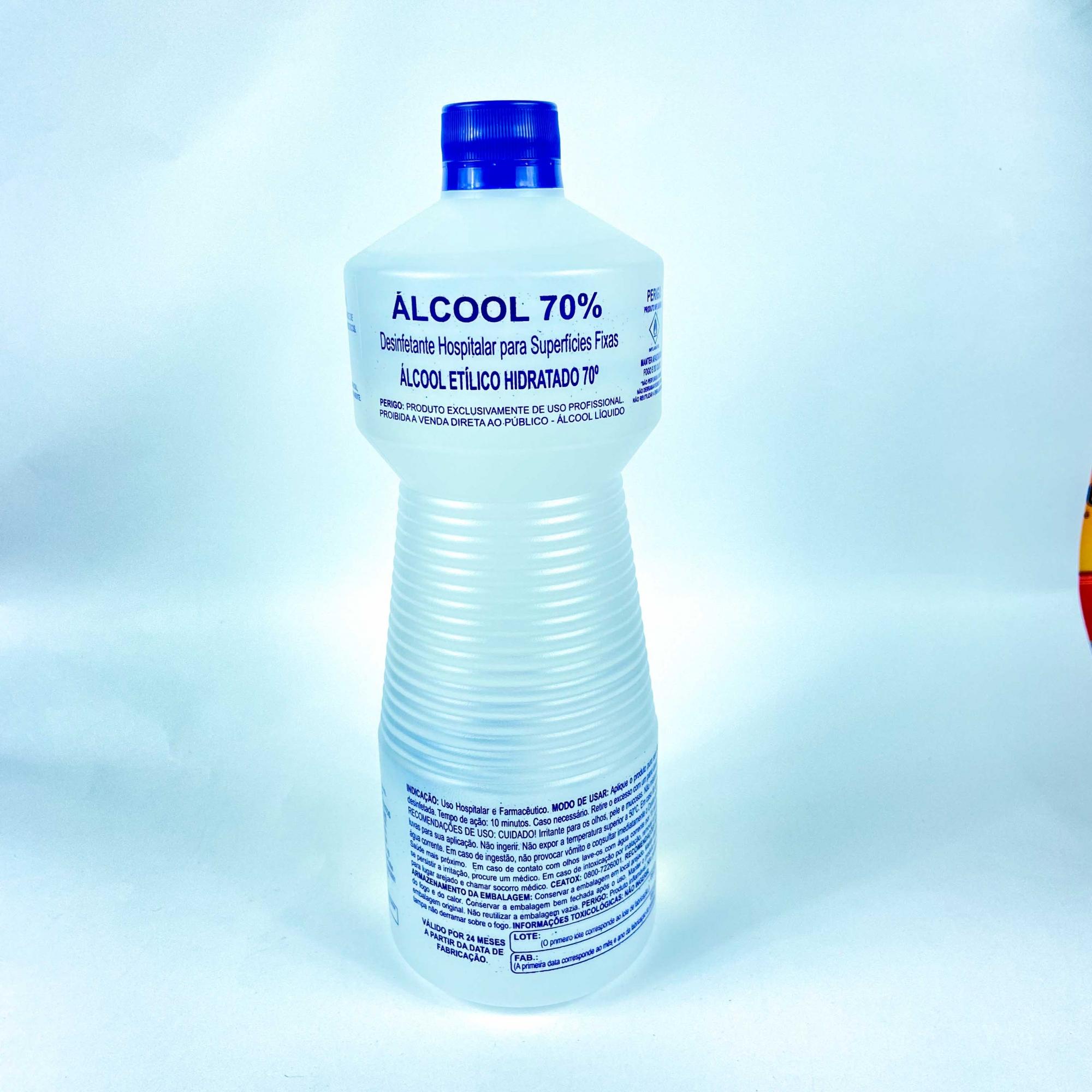 ALCOOL ETILICO 70% 1000LT