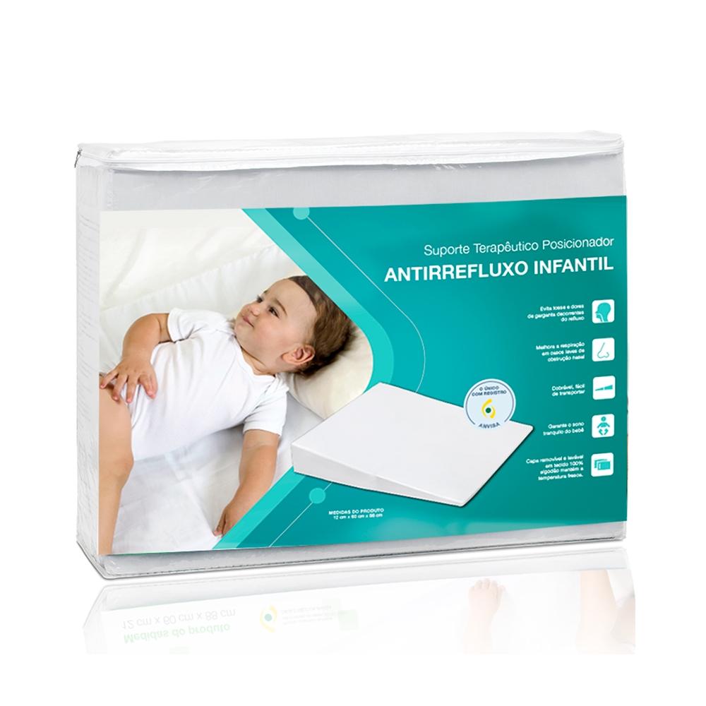 ALMOFADA (SUPORTE TERAPEUTICO) ANTI-REFLUXO INFANTIL 60X88X12