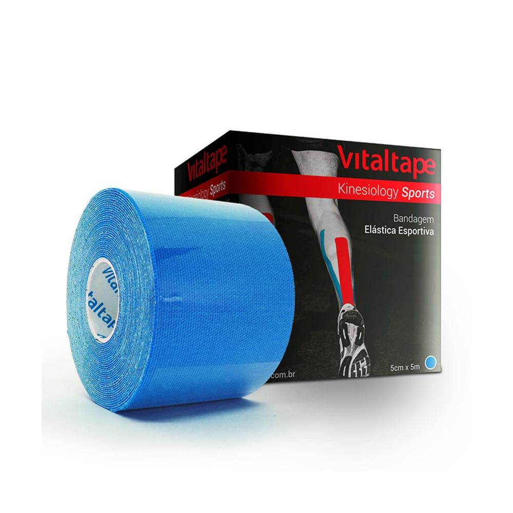 Vital Tape Kinesiology Sports Azul 5cm X 5m