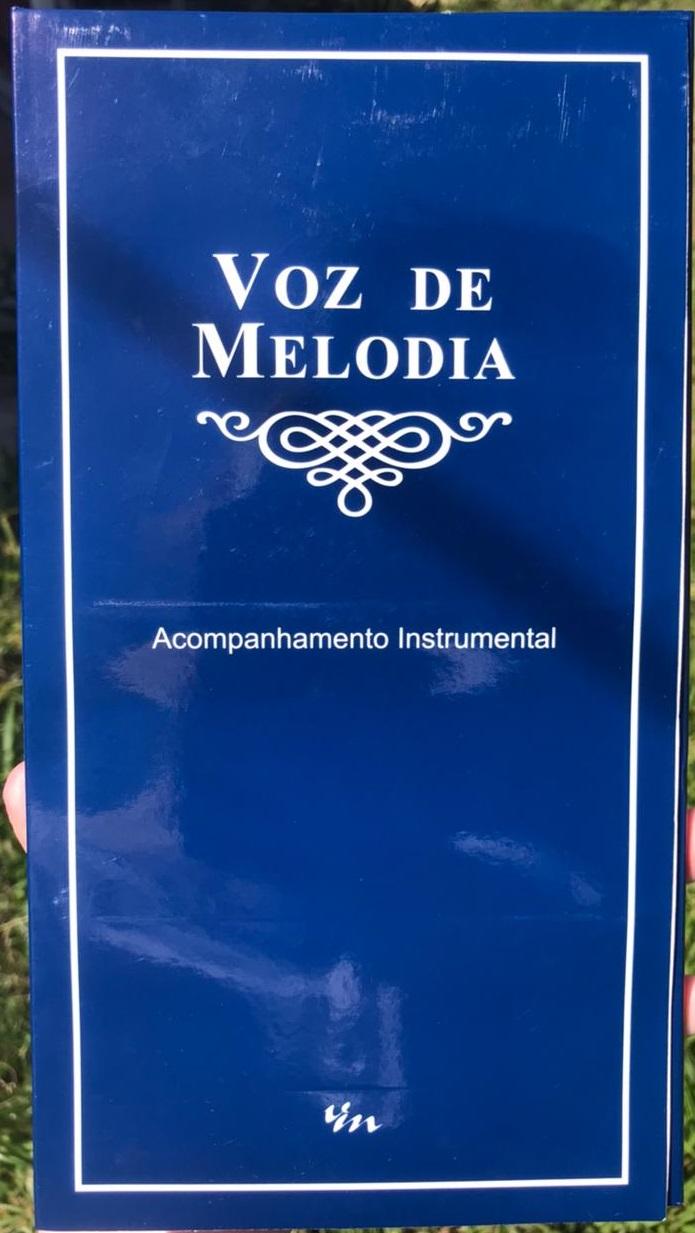 Kit de Acompanhamento Voz de Melodia (9 CD's)