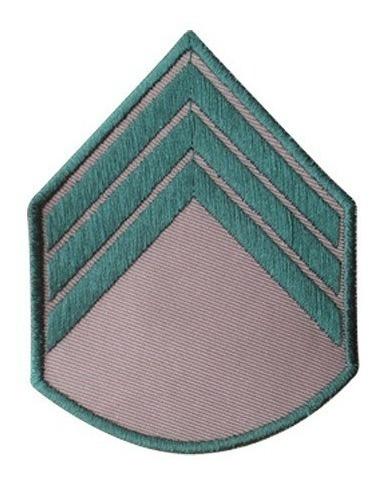 Divisa Bordada Terceiro Sargento Bege Do Exercito