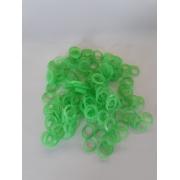 Elástico colorido 5/16 Verde