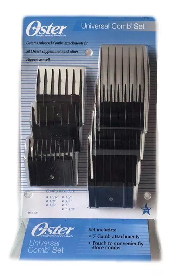 Adaptadores de Plástico (Snaps) Kit com 7 peças