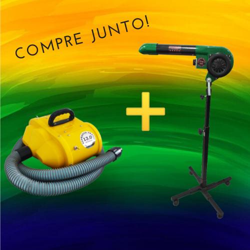 Combo Brasil Secador + Soprador