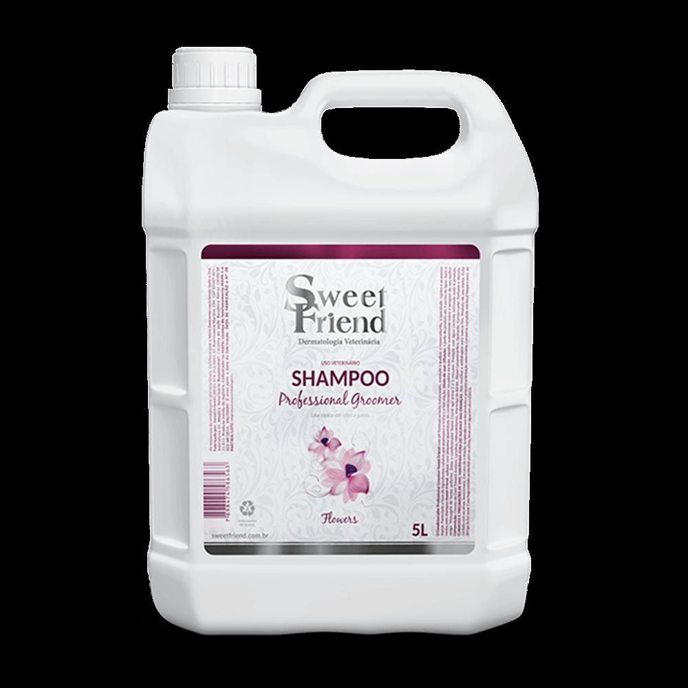 Shampoo Professional Groomer Flowers ? Sweet Friend - 5 Litros