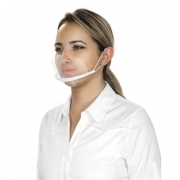 Máscara de Acrílico Proteção