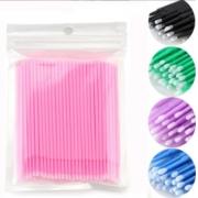 Microbrush Cotonete Alongamento Fio A Fio Cílios