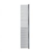 Pente 19cm Duplo Aço Cromado Prata POP - ProPetz