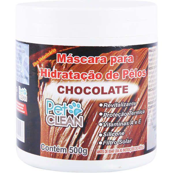 Máscara para Hidratação Chocolate 500ml Pet Clean
