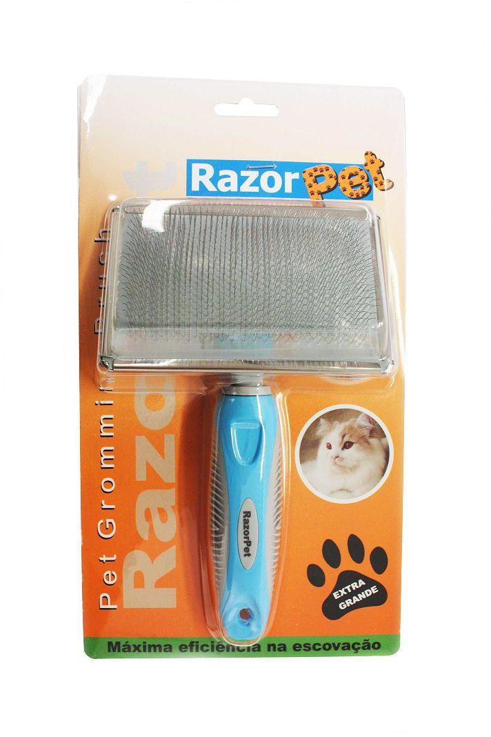 Rasqueadeira Extra Grande Razor Pet
