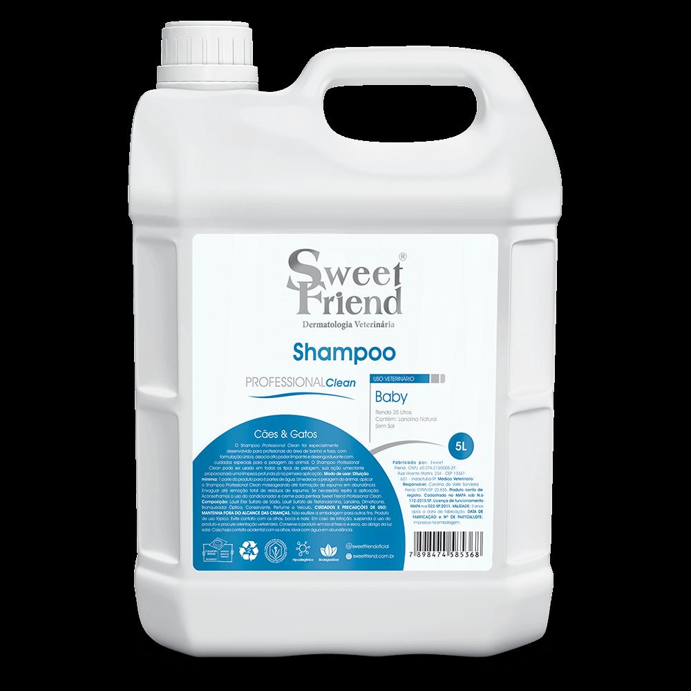 Shampoo Sweet Friend Baby  - 5 Litros