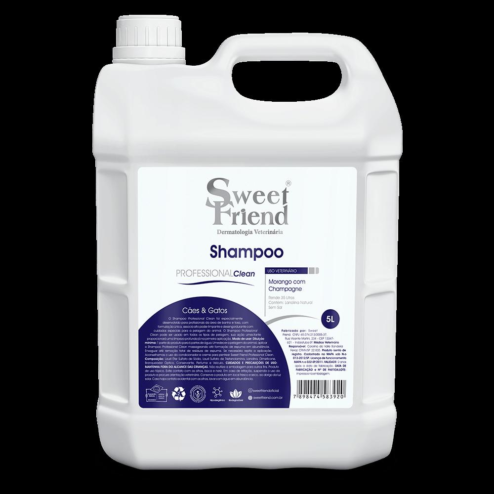 Shampoo Sweet Friend Morango com Champagne - 5 Litros