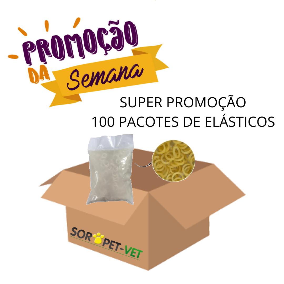 MEGA PROMOÇÃO 100 PACOTES - Elásticos 5/16' para Laços com 1.000un cada