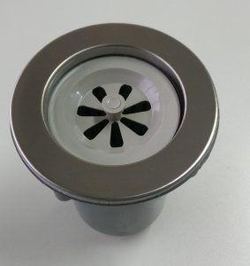 Válvula filtro para banheira inox