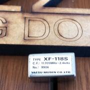 FILTRO YAESU XF-118S 2.4KHZ SSB